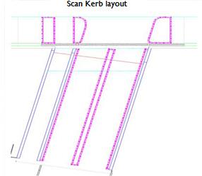 Scan Kerb Layout