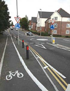 Scan Kerb - Cycle Lane Solution